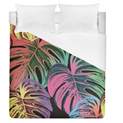 Leaves Tropical Jungle Pattern Duvet Cover (queen Size)