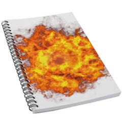 Fire Transparent 5 5  X 8 5  Notebook by AnjaniArt