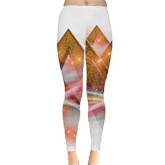 Golden Triangle Leggings