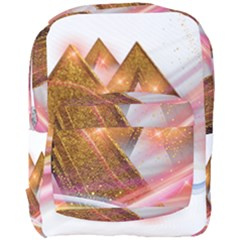 Golden Triangle Full Print Backpack by AnjaniArt