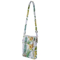 Hawaii Pineapple Wallpaper Tropical Plants Multi Function Travel Bag