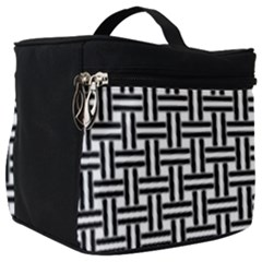 Line Pattern Make Up Travel Bag (big) by AnjaniArt