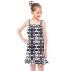 Line Pattern Kids  Overall Dress by AnjaniArt