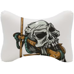 Horror Skeleton Material Seat Head Rest Cushion