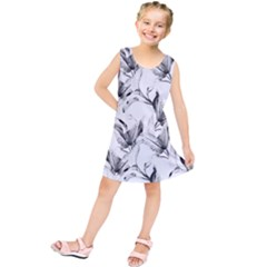 Leaves Tropical Kids  Tunic Dress by AnjaniArt
