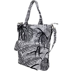 Leaves Nature Picture Shoulder Tote Bag