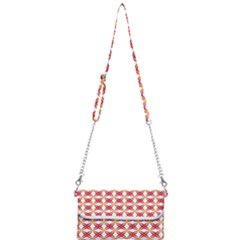 Hexagon Polygon Colorful Prismatic Mini Crossbody Handbag by AnjaniArt