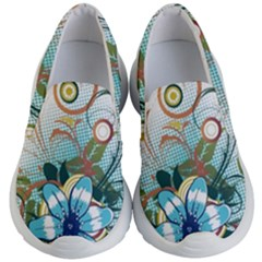 Flower Wallpaper Kids  Lightweight Slip Ons by Jojostore