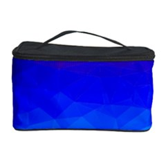 Gradient Red Blue Landfill Cosmetic Storage