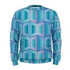 Geometric Background Pattern Men s Sweatshirt