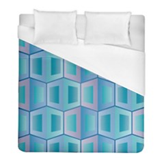 Geometric Background Pattern Duvet Cover (full/ Double Size) by Jojostore