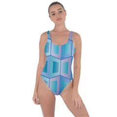 Geometric Background Pattern Bring Sexy Back Swimsuit by Jojostore