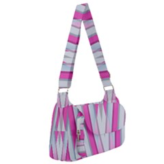 Geometric Chevron Pink Post Office Delivery Bag