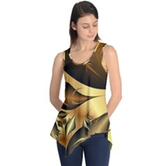 Fractals Background Texture Sleeveless Tunic