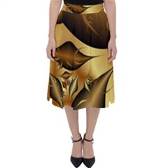 Fractals Background Texture Classic Midi Skirt by Jojostore