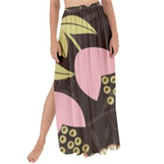 Flower Wallpaper Floral Maxi Chiffon Tie Up Sarong