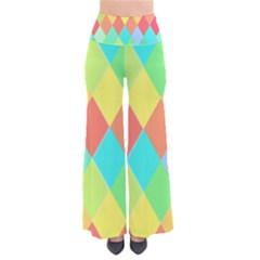 Low Poly Triangles So Vintage Palazzo Pants