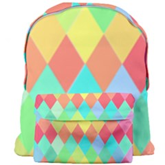 Low Poly Triangles Giant Full Print Backpack