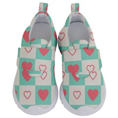 Heart Love Seamless Kids  Velcro No Lace Shoes by Jojostore