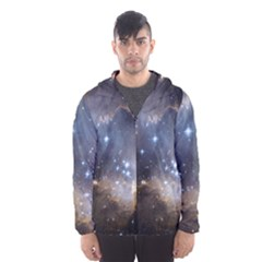 Cosmic Constellation Hooded Windbreaker (men)