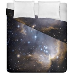 Cosmic Constellation Duvet Cover Double Side (california King Size)