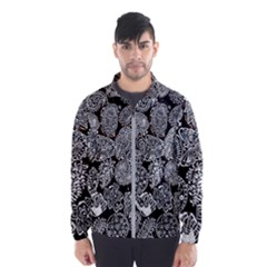Black & White Paisley Windbreaker (men)