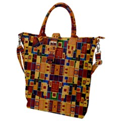 Ml 5 Buckle Top Tote Bag by ArtworkByPatrick
