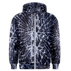 Shattered Men s Zipper Hoodie
