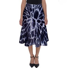 Shattered Perfect Length Midi Skirt by WensdaiAddamns