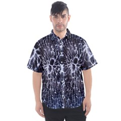 Shattered Men s Short Sleeve Shirt