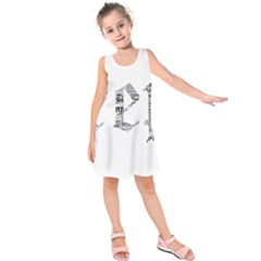 Taylor Swift Kids  Sleeveless Dress