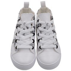Taylor Swift Kids  Mid Top Canvas Sneakers