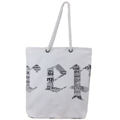 Taylor Swift Full Print Rope Handle Tote (large)