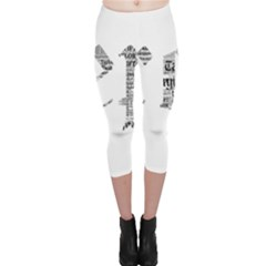 Taylor Swift Capri Leggings