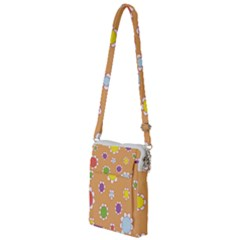 Floral Flowers Retro Multi Function Travel Bag