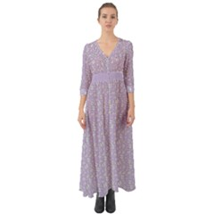 Atomic Effect  Button Up Boho Maxi Dress