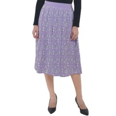 Atomic Effect  Classic Velour Midi Skirt  by TimelessFashion