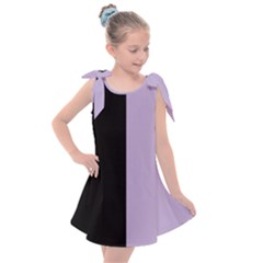 Black   Crocus Petal  Kids  Tie Up Tunic Dress by TimelessFashion