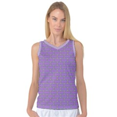 Brick Wall  Women s Basketball Tank Top by TimelessFashion
