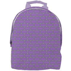 Brick Wall  Mini Full Print Backpack by TimelessFashion