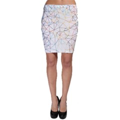 Geometric Pattern Abstract Shape Bodycon Skirt