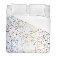 Geometric Pattern Abstract Shape Duvet Cover (full/ Double Size) by Mariart