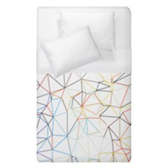 Geometric Pattern Abstract Shape Duvet Cover (single Size)