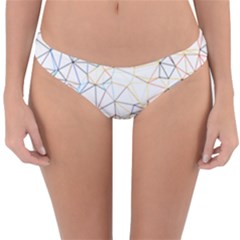 Geometric Pattern Abstract Shape Reversible Hipster Bikini Bottoms