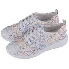 Geometric Pattern Abstract Shape Men s Lightweight Sports Shoes by Mariart