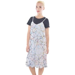 Geometric Pattern Abstract Shape Camis Fishtail Dress by Mariart