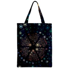Design Background Modern Zipper Classic Tote Bag