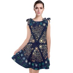 Design Background Modern Tie Up Tunic Dress by Mariart