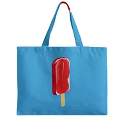 Ice Cream Zipper Medium Tote Bag by Mariart