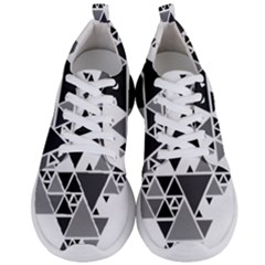 Gray Triangle Puzzle Men s Lightweight Sports Shoes